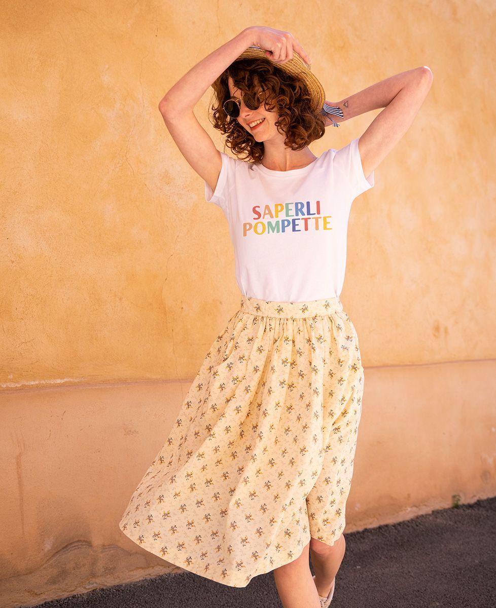 T-Shirt femme Saperlipompette