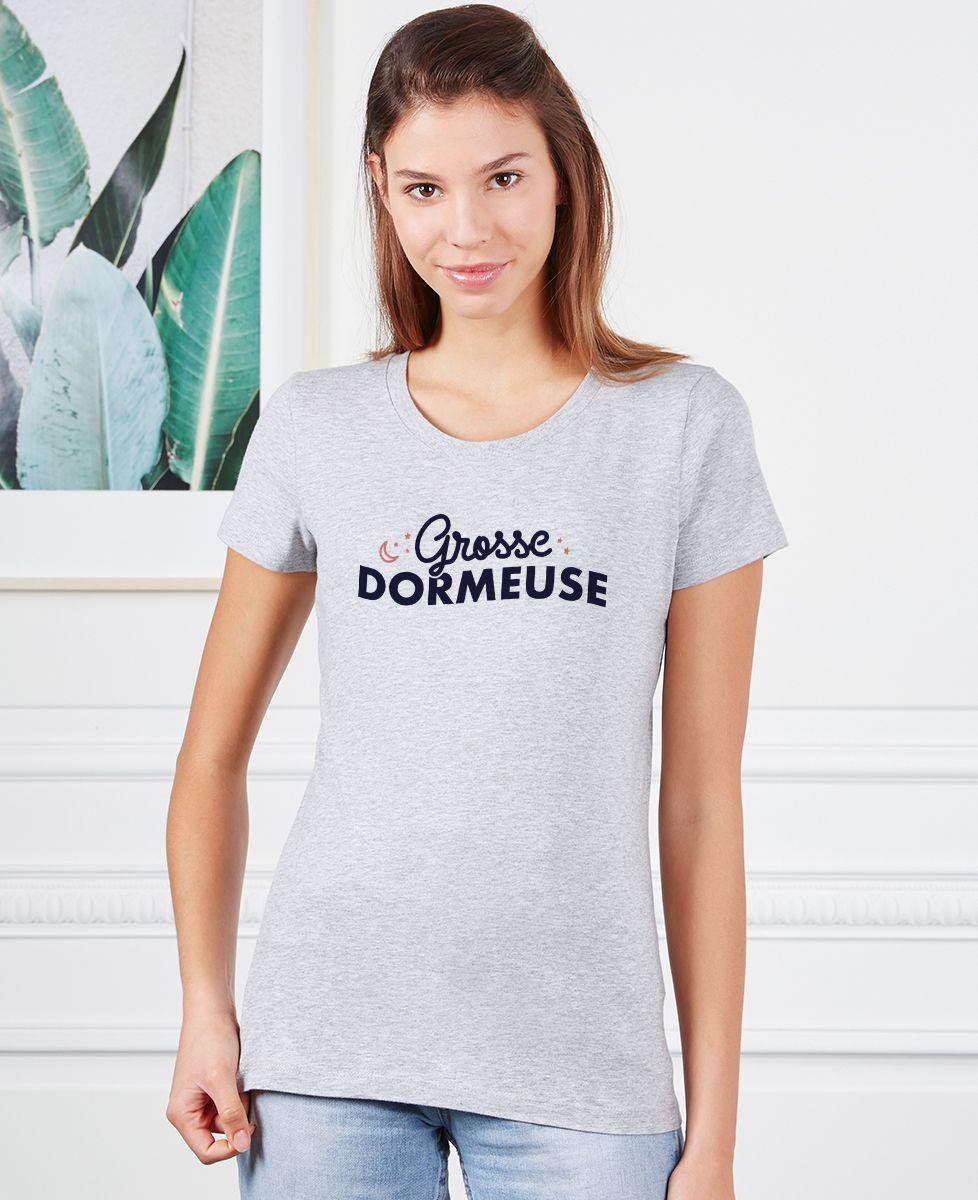 T-Shirt femme Grosse dormeuse