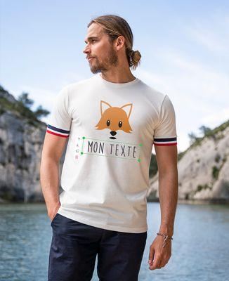 T-shirt homme recyclé Filgood Imprimé personnalisé