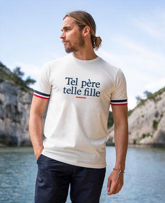 T-shirt homme recyclé Filgood Tel père telle fille