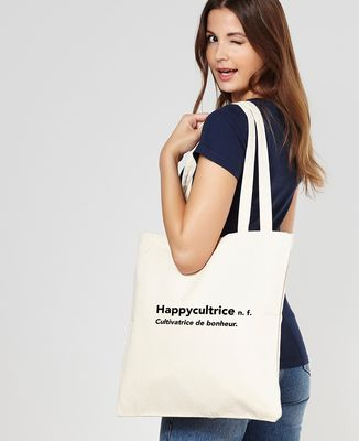 Tote bag Happycultrice