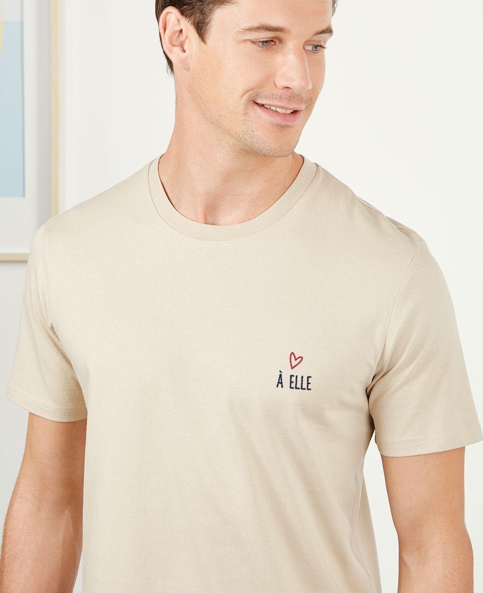 T-Shirt homme À elle (brodé)