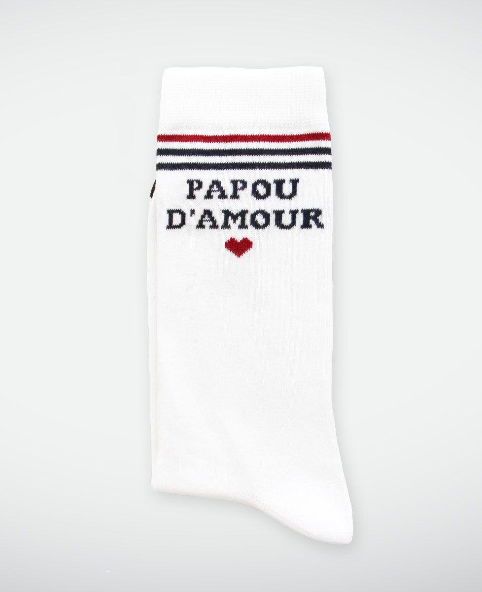 Chaussettes homme Papou d'amour