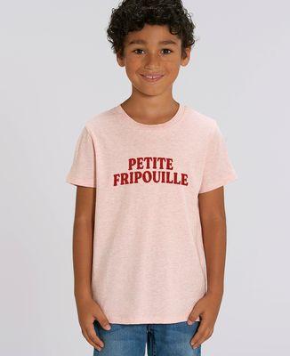 T-Shirt enfant Petite fripouille (effet velours)
