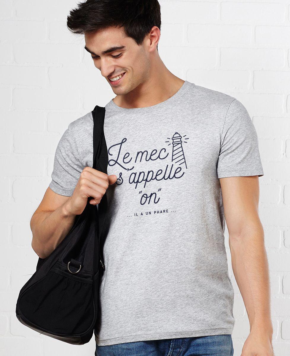 T-Shirt homme Le mec s'appelle On