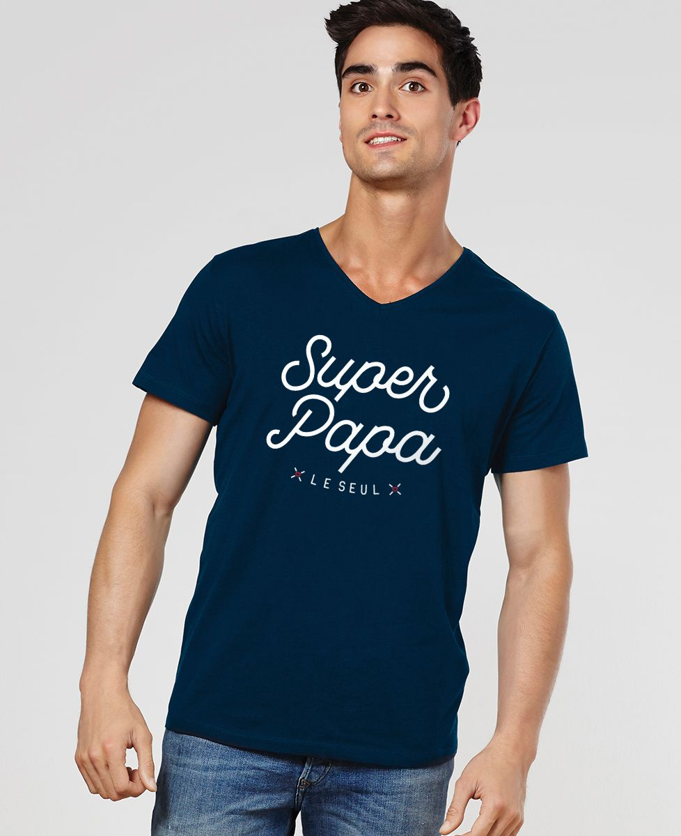 T-Shirt homme Super Papa