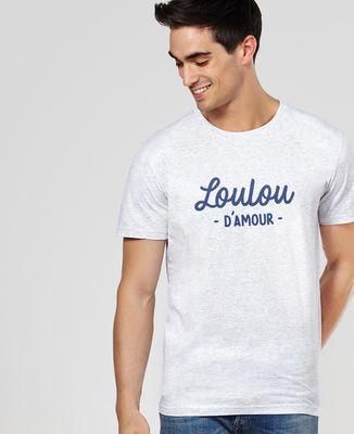 T-Shirt homme Loulou d'amour