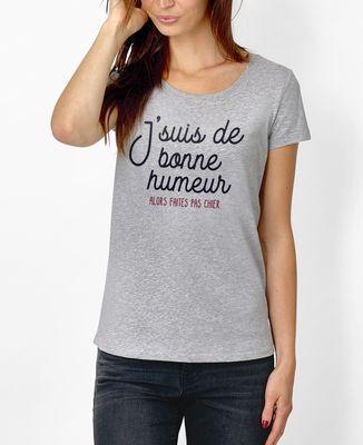 T-Shirt femme De bonne humeur
