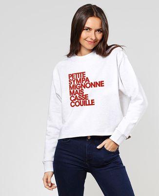 Sweatshirt femme Petite Sympa