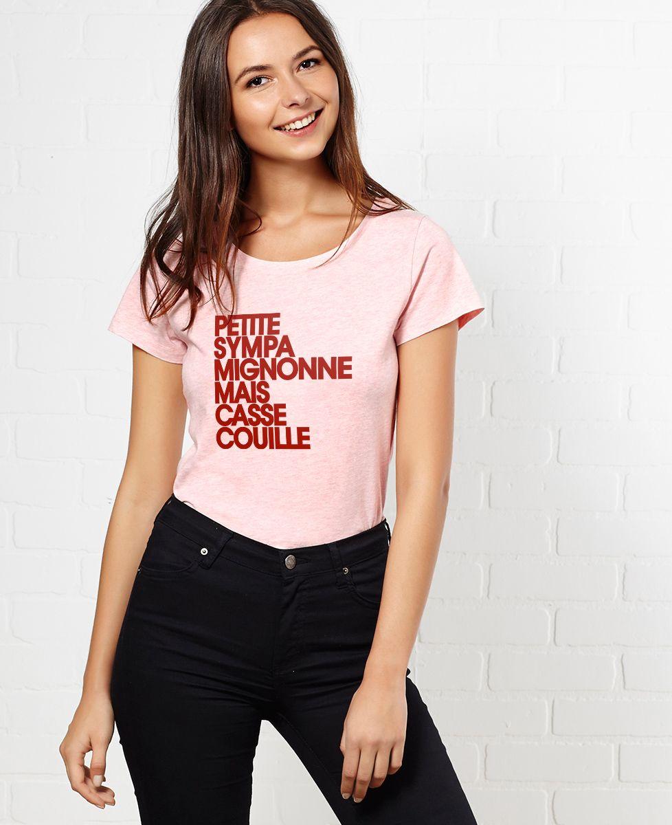 T-Shirt femme Petite Rouge