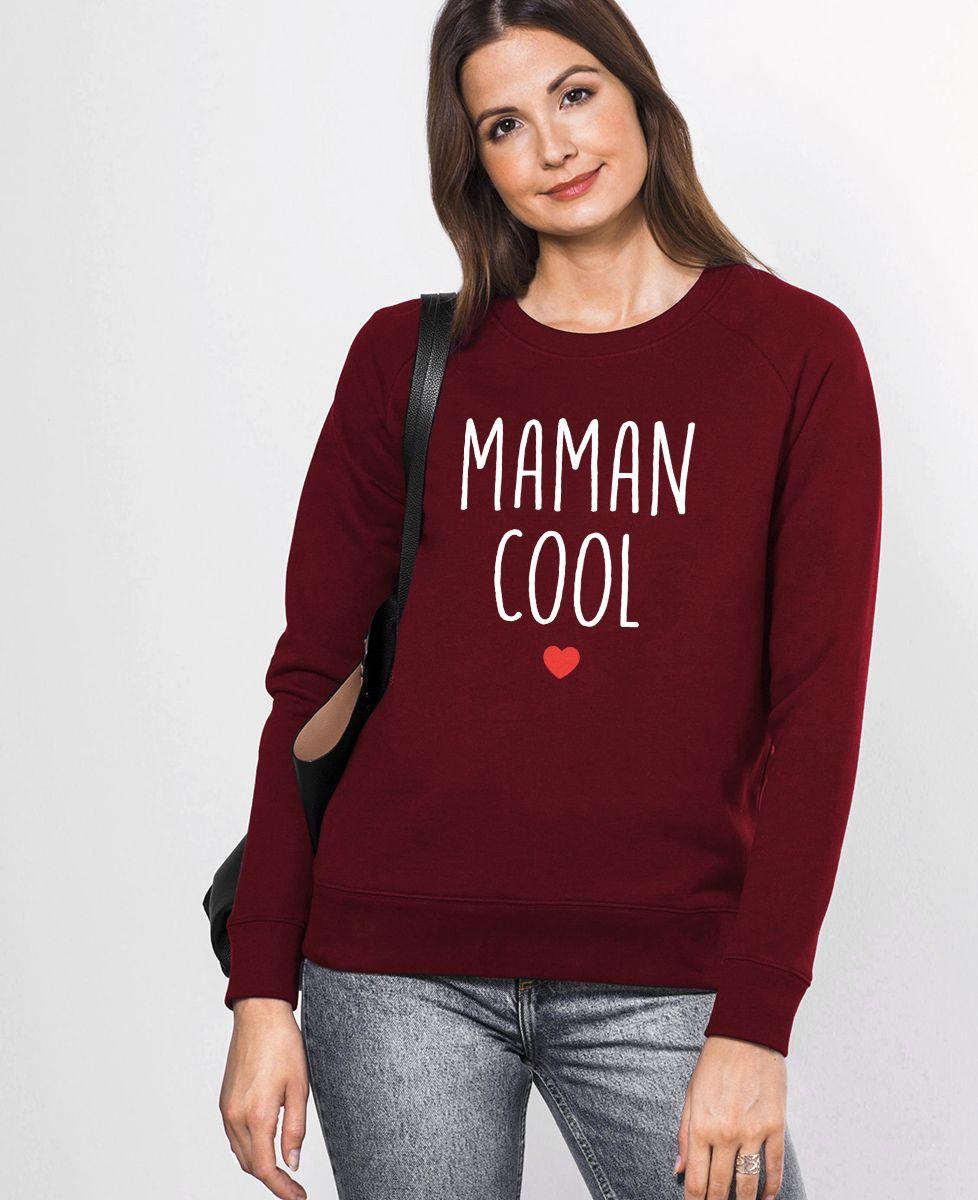 Sweatshirt femme Maman cool