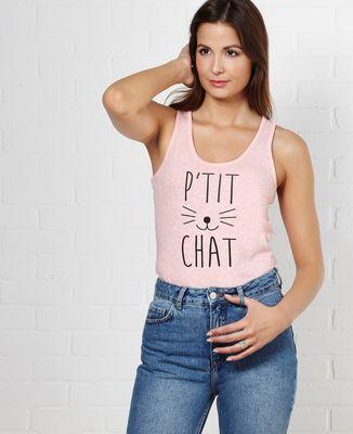 Débardeur femme P'tit chat