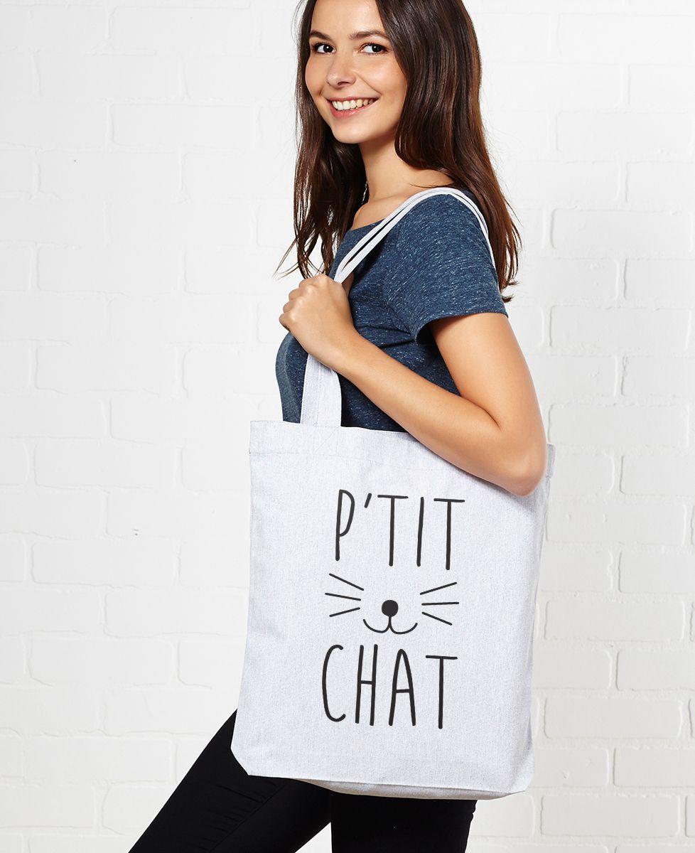 Tote bag P'tit chat