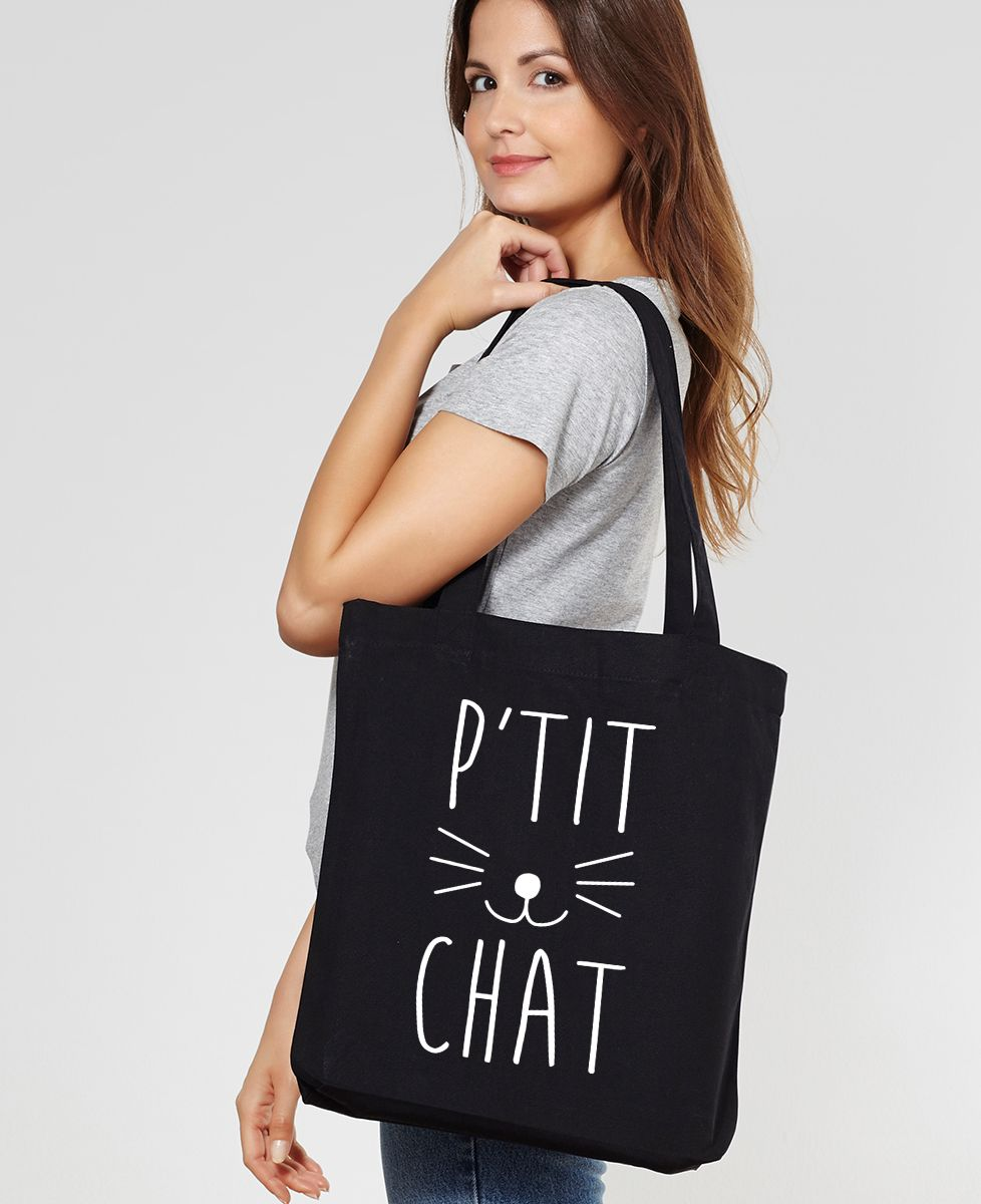 Tote bag P'tit chat