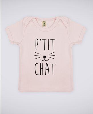T-Shirt bébé P'tit chat