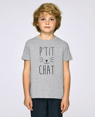 T-Shirt enfant P'tit chat