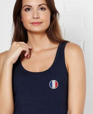 Débardeur femme Écusson France