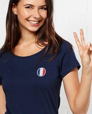 T-Shirt femme Écusson France