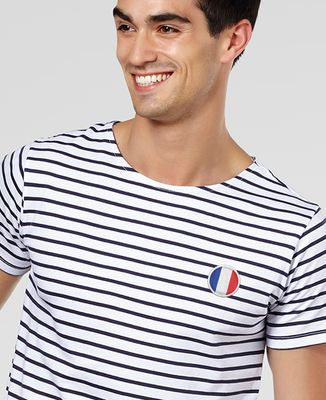 T-Shirt homme Écusson France