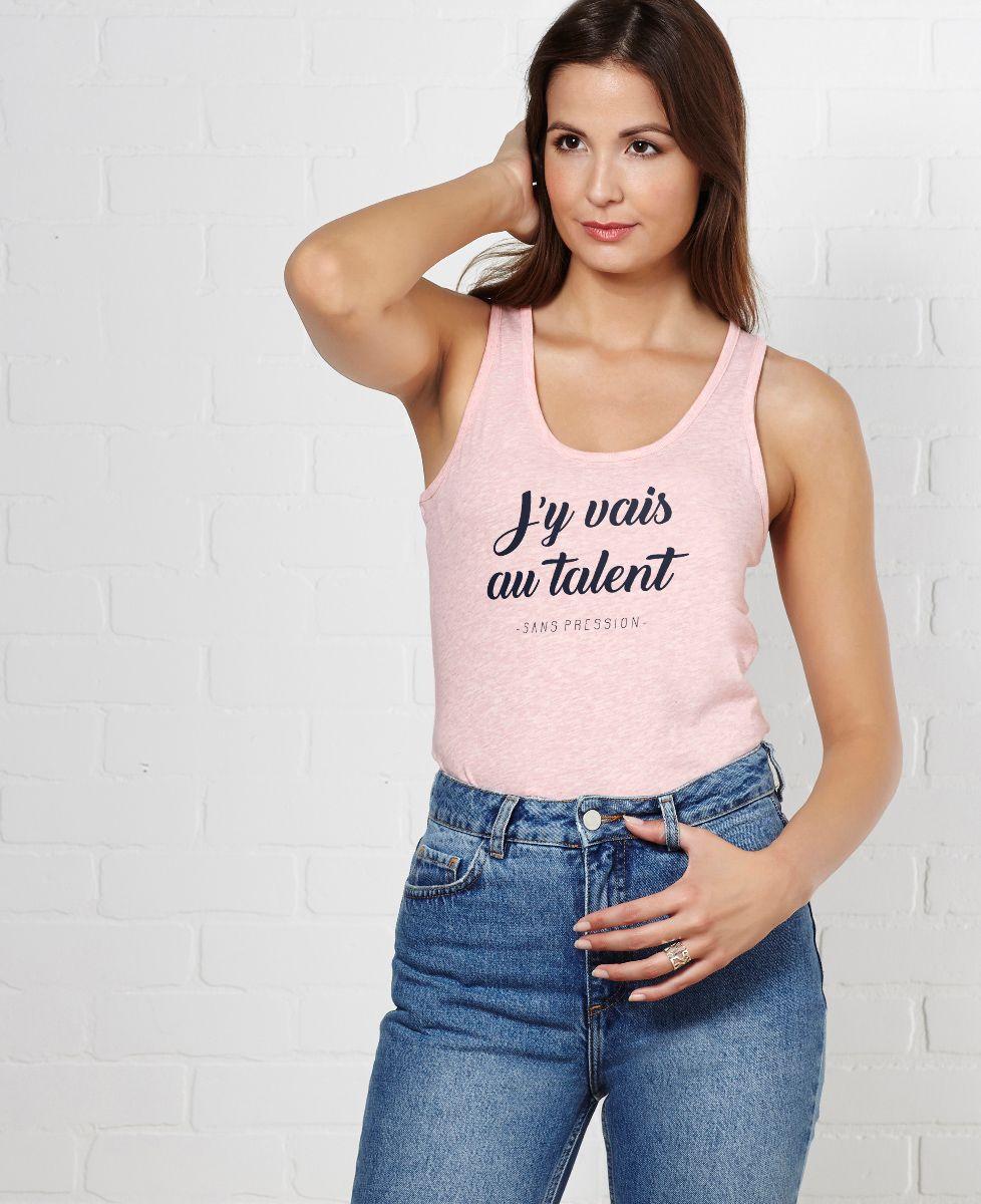 Débardeur femme Au talent