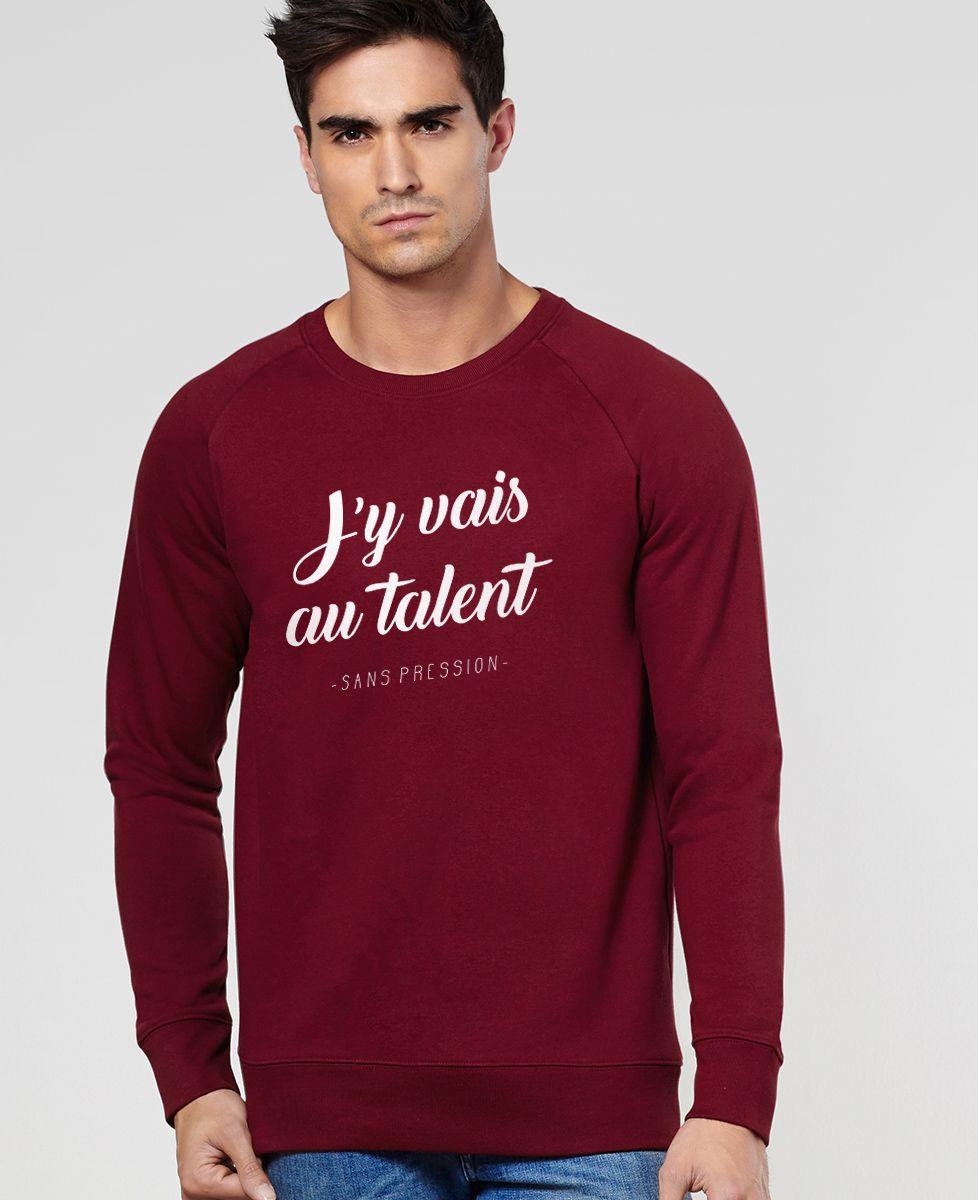 Sweatshirt homme Au talent