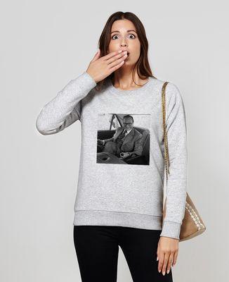 Sweatshirt femme Jeu du rond Chirac
