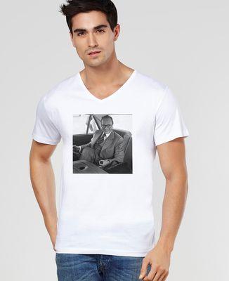 T-Shirt homme Jeu du rond Chirac