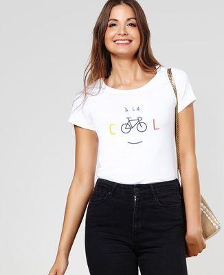 T-Shirt femme À la cool