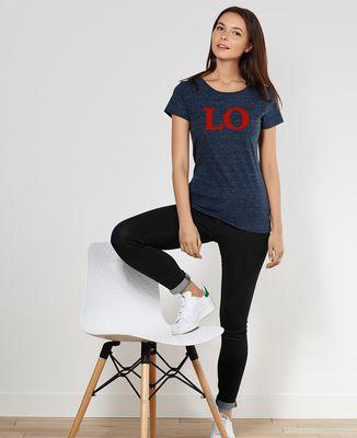 T-Shirt femme Love (duo)