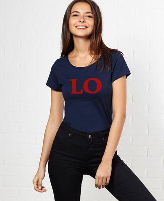 T-Shirt femme Love