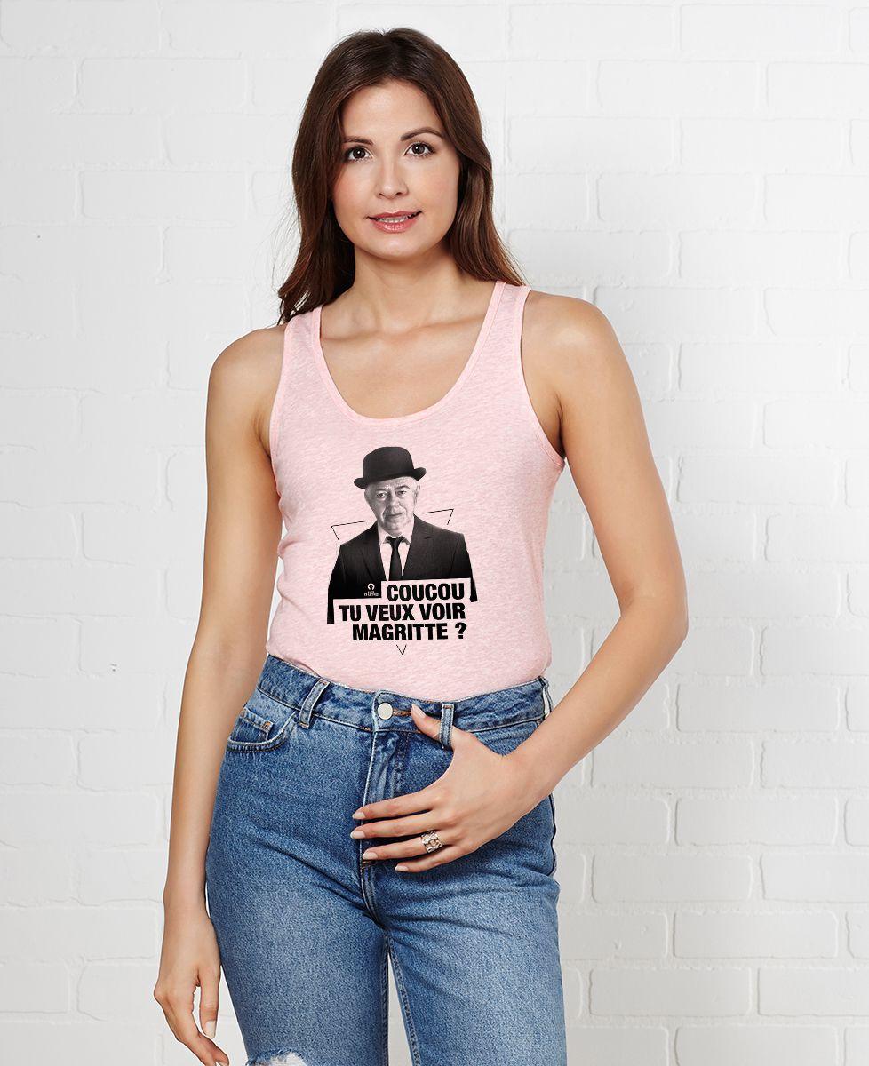 Débardeur femme Magritte cut