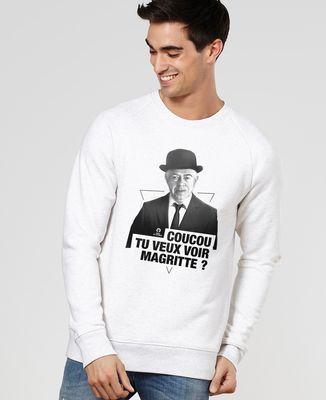 Sweatshirt homme Magritte cut
