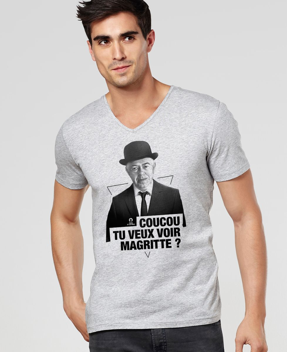 T-Shirt homme Magritte cut