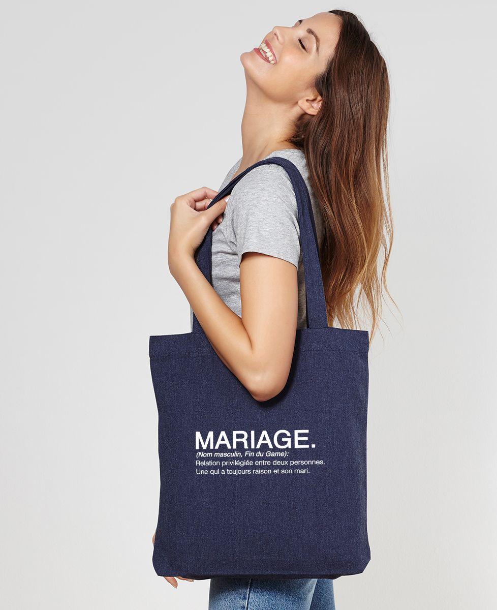 Tote bag Mariage