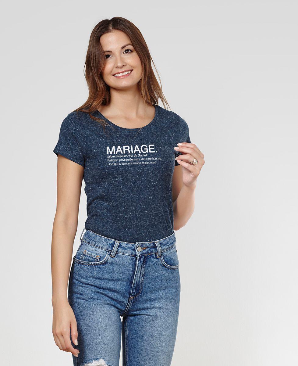 T-Shirt femme Mariage