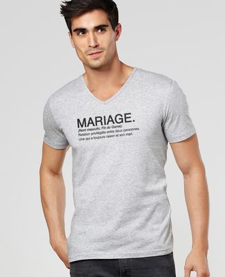 T-Shirt homme Mariage