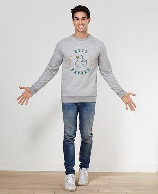 Sweatshirt homme Gros canard