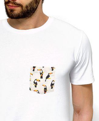 T-Shirt homme T-shirt à poche Toucan