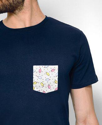 T-Shirt homme T-shirt à poche Ice cream