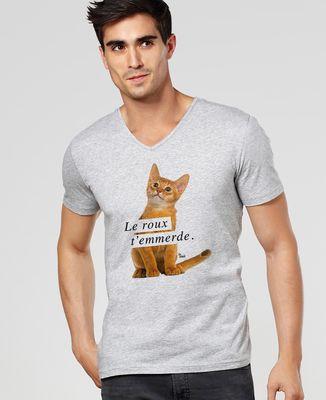 T-Shirt homme Le roux t'emmerde