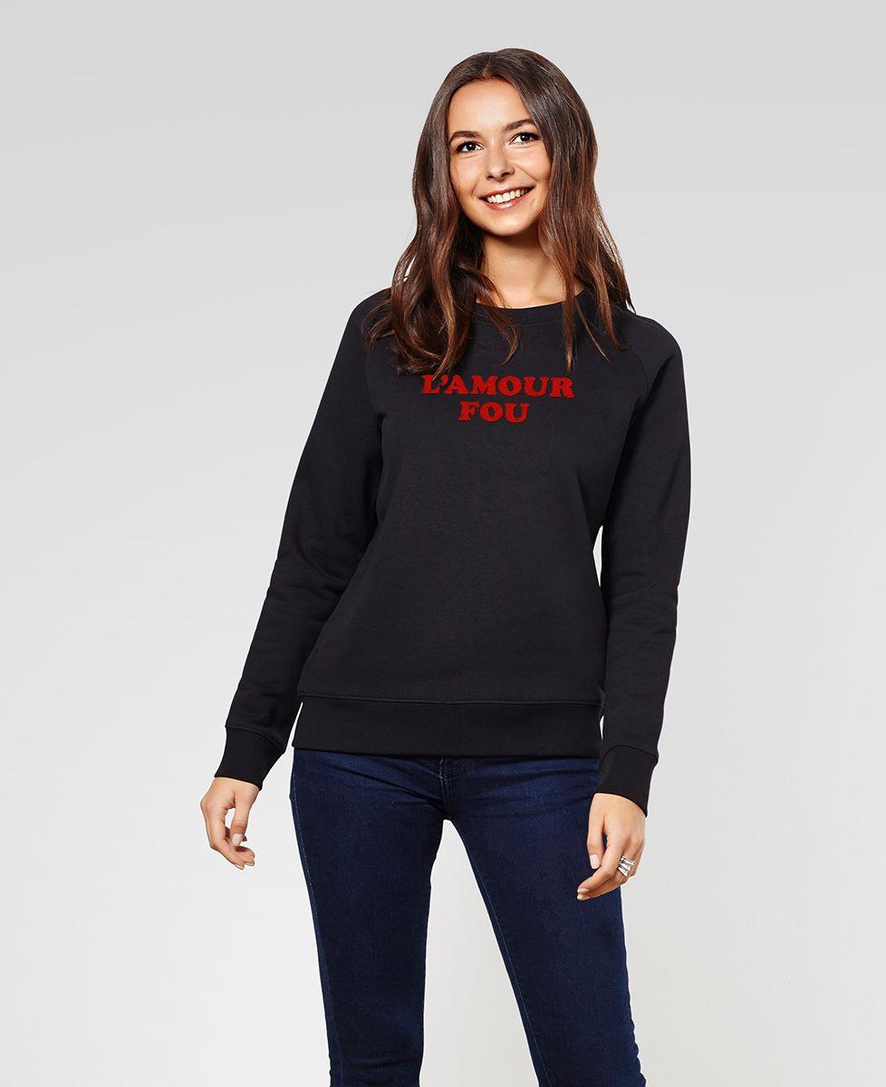 Sweatshirt femme L'amour fou
