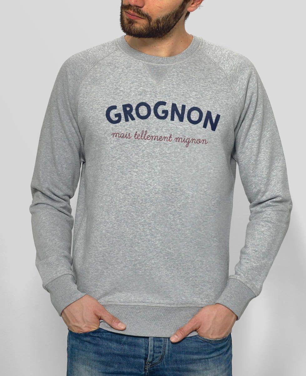 Sweatshirt homme Grognon
