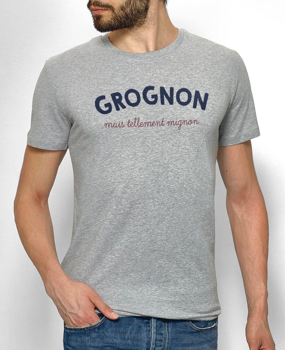T-Shirt homme Grognon