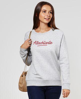 Sweatshirt femme Attachiante (effet velours)
