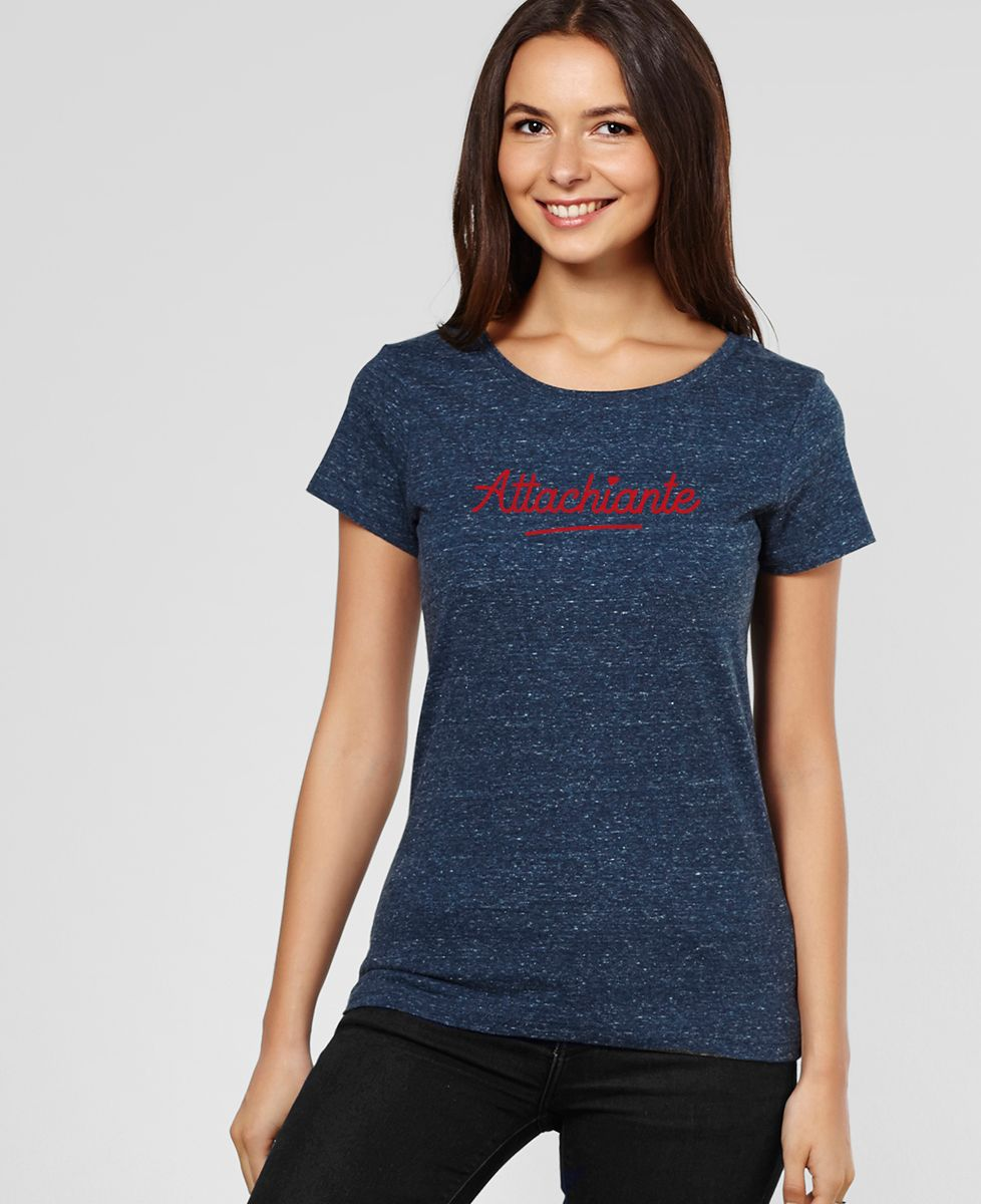 T-Shirt femme Attachiante (effet velours)