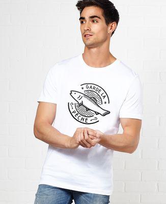 T-Shirt homme Garde la pêche