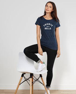 T-Shirt femme Chiante mais belle