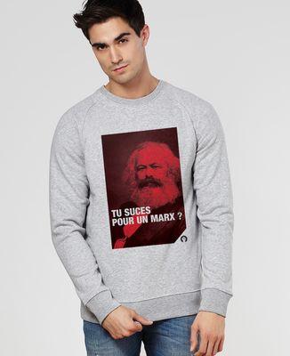 Sweatshirt homme Marx