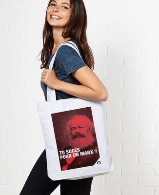 Tote bag Marx
