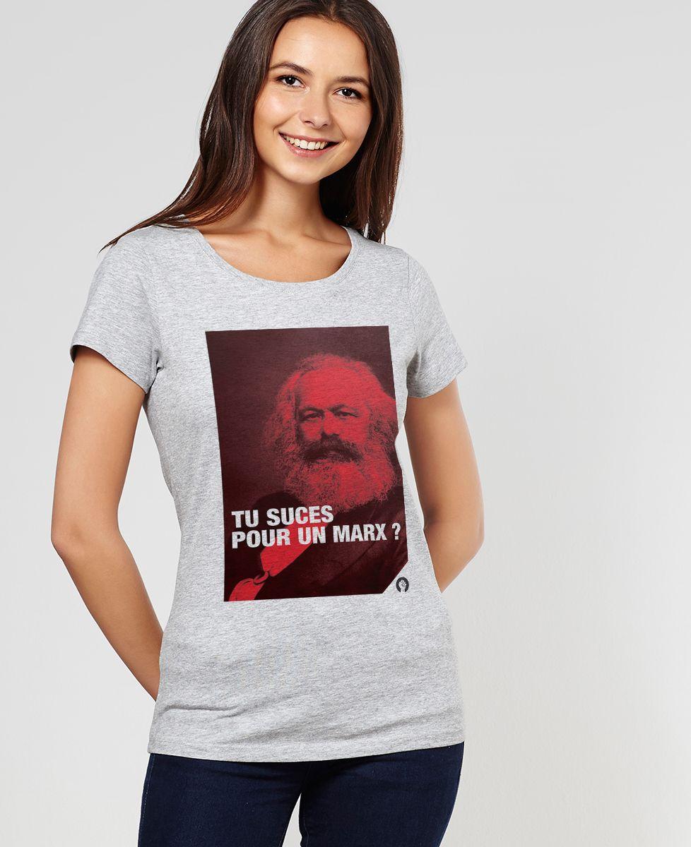 T-Shirt femme Marx